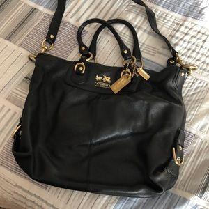 Black Crossbody/over the shoulder Coach Bag